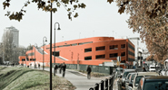 piovego parking and offices, padua