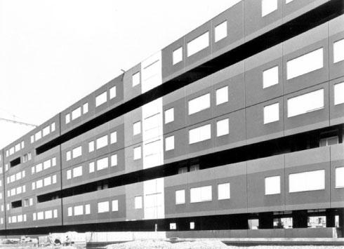 Social housing Via di Giusto, Udine