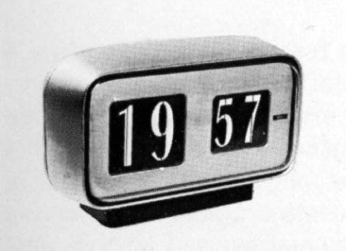Design of Solari clocks