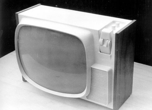 Design of Zanussi televisions